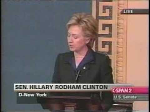 Will Liberals Forgive  Hillary Clinton   For Her Support Of The Iraq War?....5/19