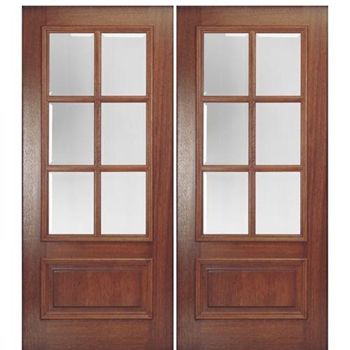 Mai Doors Dd6l 2 Delta True Divided Lite 6 Lite Panel