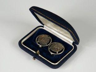 111 Ohrclips Silber. Ø 2,2 cm.