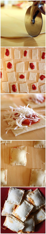 #DIY #Pizza Rolls