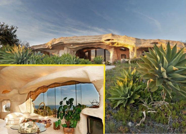 Flintstones House Dick Clark Owns This Modern Homage To