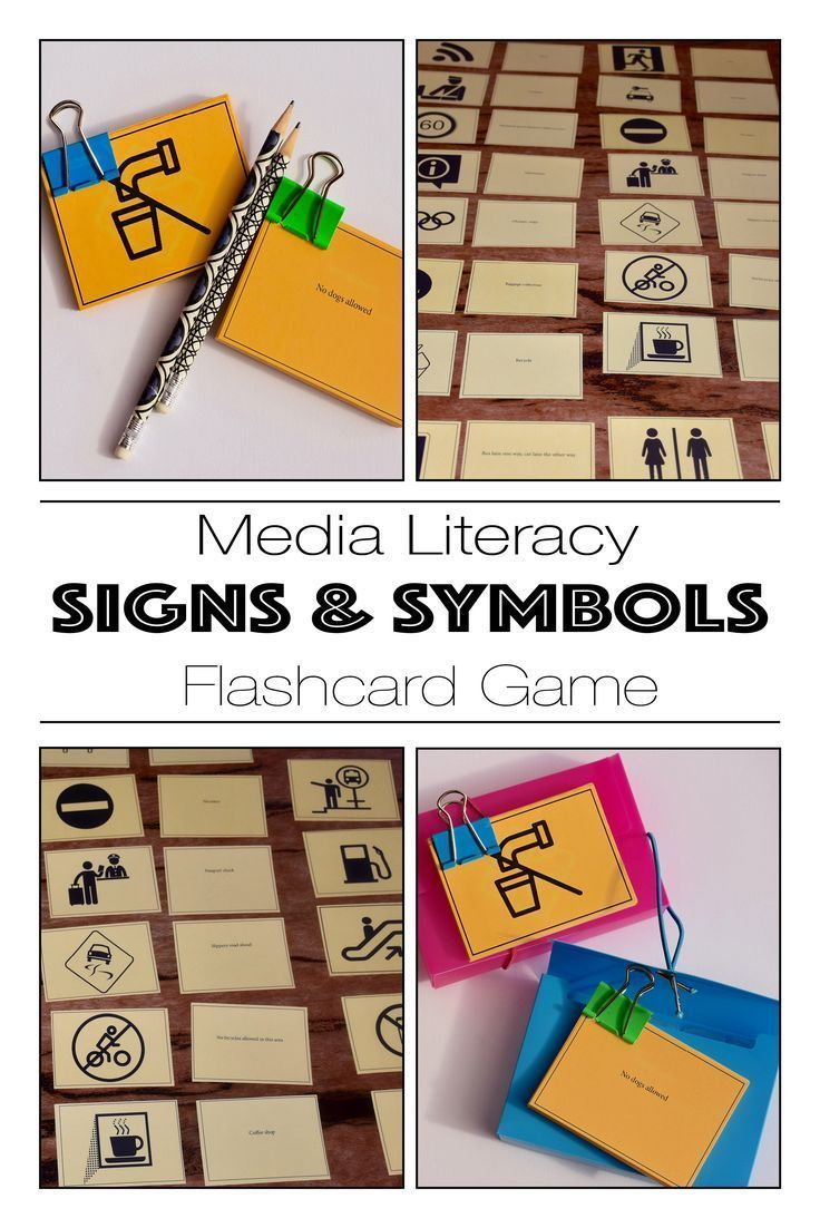 A media literacy exercise teaching SIGNS & SYMBOLS as a media literacy exercise for primary and middle school.  A fun SIGNS & SYMBOLS teaching resource.  Available from: https://www.teacherspayteachers.com/Store/Media-And-English-Literacy