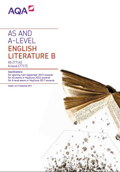 aqa english literature coursework specification 11 why choose aqa for gcse english literature a specification you can attend a course at english literature subject team e: english-gcse@aqa.