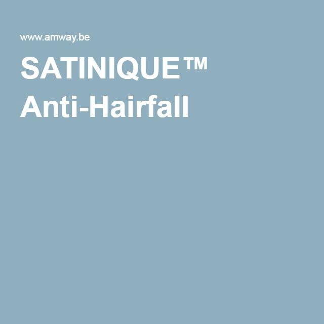 SATINIQUE™ Anti-Hairfall  UITVALLEND & DUNNER WORDEND HAAR  ANTI-HAIRFALL voor breekbaar, dun wordend haar voorkomt haaruitval door haarbreuk en zorgt dat het haar er dikker en voller uitziet.