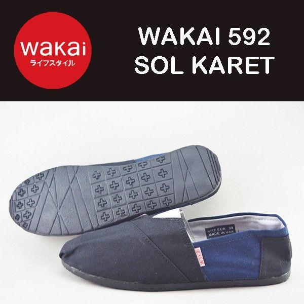 Saya menjual sepatu wanita - pria WAKAI 592 GRADE ORI SOL KARET hitam biru seharga $150000.00. Dapatkan produk ini hanya di Shopee! https://shopee.co.id/liamajid/140306242 #ShopeeID
