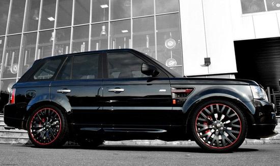 2011 Range Rover Sport Diablo By Project Kahn