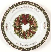 Portmeirion A Christmas Story Salad Plate