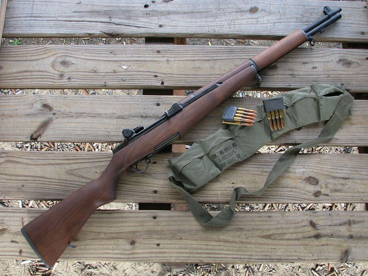 If I could ever own a gun, it'd be an M1 Garand