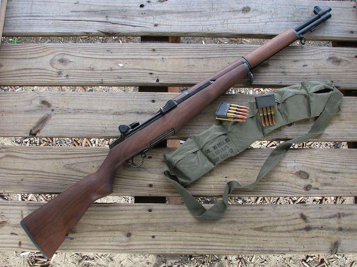 If I could ever own a gun, it'd be an M1 Garand