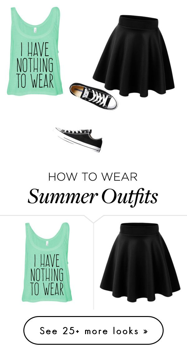 """Untitled #1"" by ashlee-krick on Polyvore featuring moda e Converse"