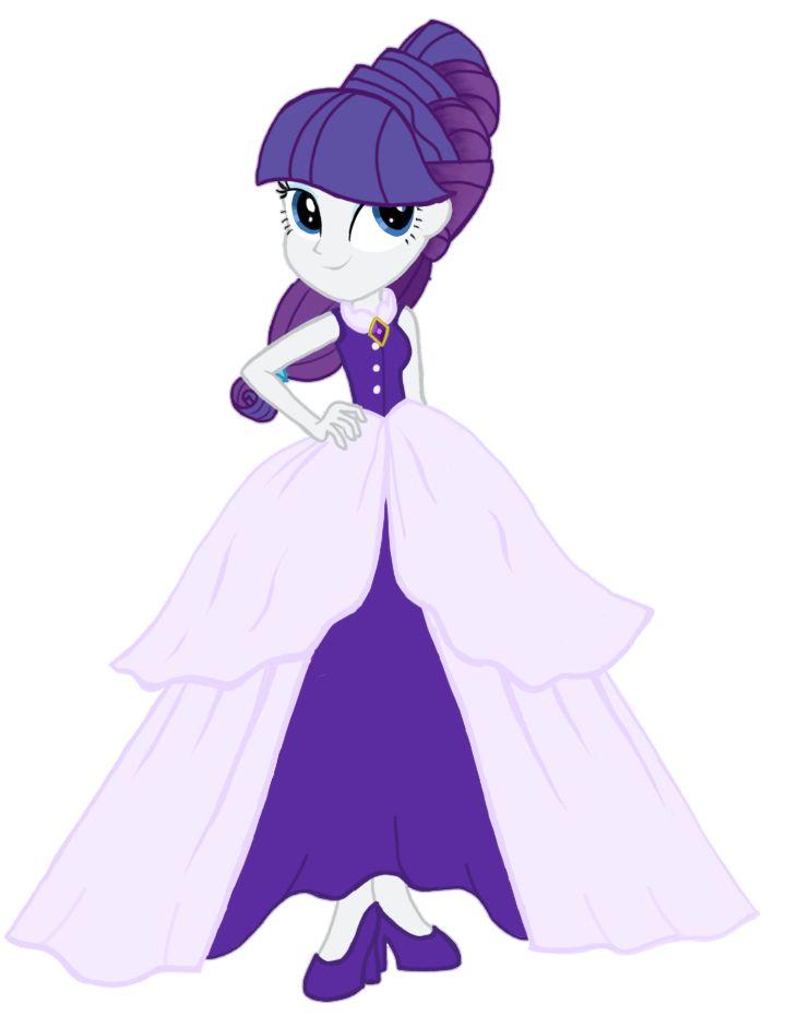 Princess Rarity EG by Tsundra.deviantart.com on @DeviantArt
