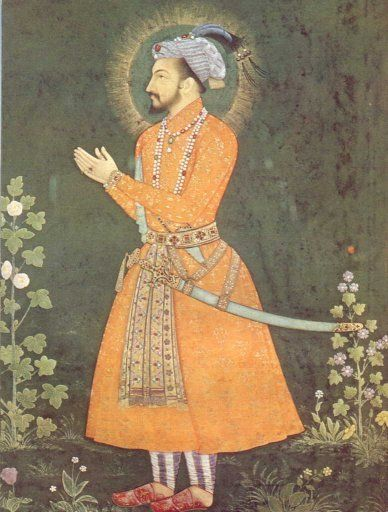 The Mogul Emperor Shah Jahan -- The one who got built the Taj Mahal in Agra, India