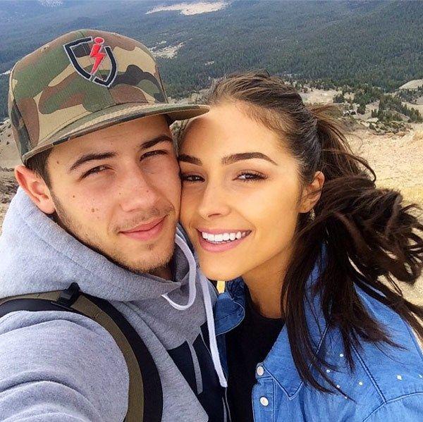 nick-jonas-olivia-culpo-instagram-selfie-