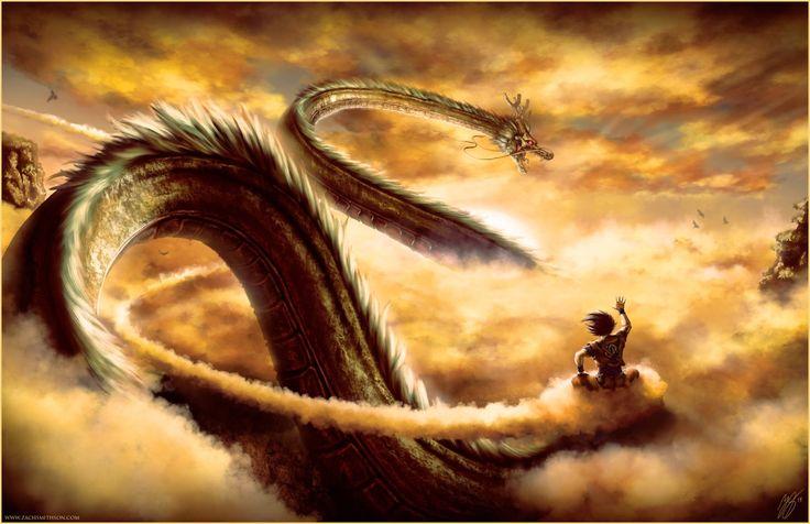 """Good Morning Shenron"" ||| Dragonball Z Fan Art by zachsmithson on Tumblr"