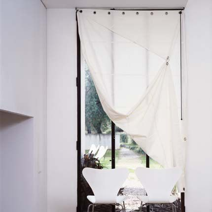 Ecran en toile de lin - Marie Claire Maison