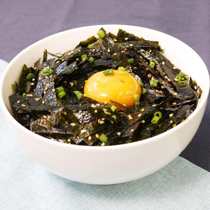 海苔の大量消費!手作り韓国海苔で節約丼ぶり | 料理動画(レシピ動画)のKURASHIRU [クラシル]
