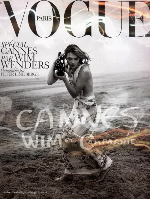 Cannes Vogue cover