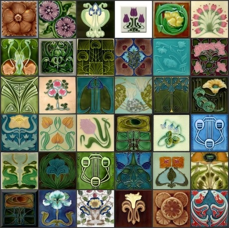 Art Nouveau Tiles Find Great Art Nouveau At Www.rubylane.com @rubylanecom # Part 67