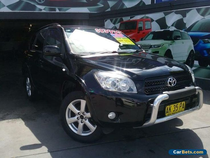 2006 Toyota RAV4 ACA33R Cruiser (4x4) Black Automatic 4sp A Wagon #toyota #rav4 #forsale #australia
