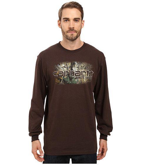 CARHARTT Workwear Graphic Camo 1889 Long Sleeve Tee. #carhartt #cloth #shirts & tops
