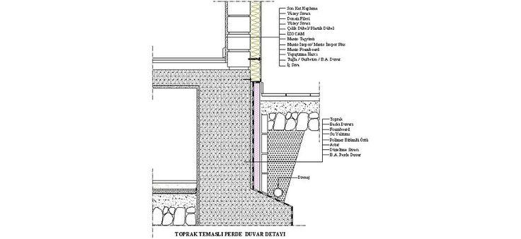 Dwg Adı : Toprak temaslı perde duvar detayı  İndirme Linki : http://www.dwgindir.com/puanli/puanli-2-boyutlu-dwgler/puanli-detaylar/toprak-temasli-perde-duvar-detayi.html