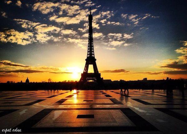 Image result for paris sunrise