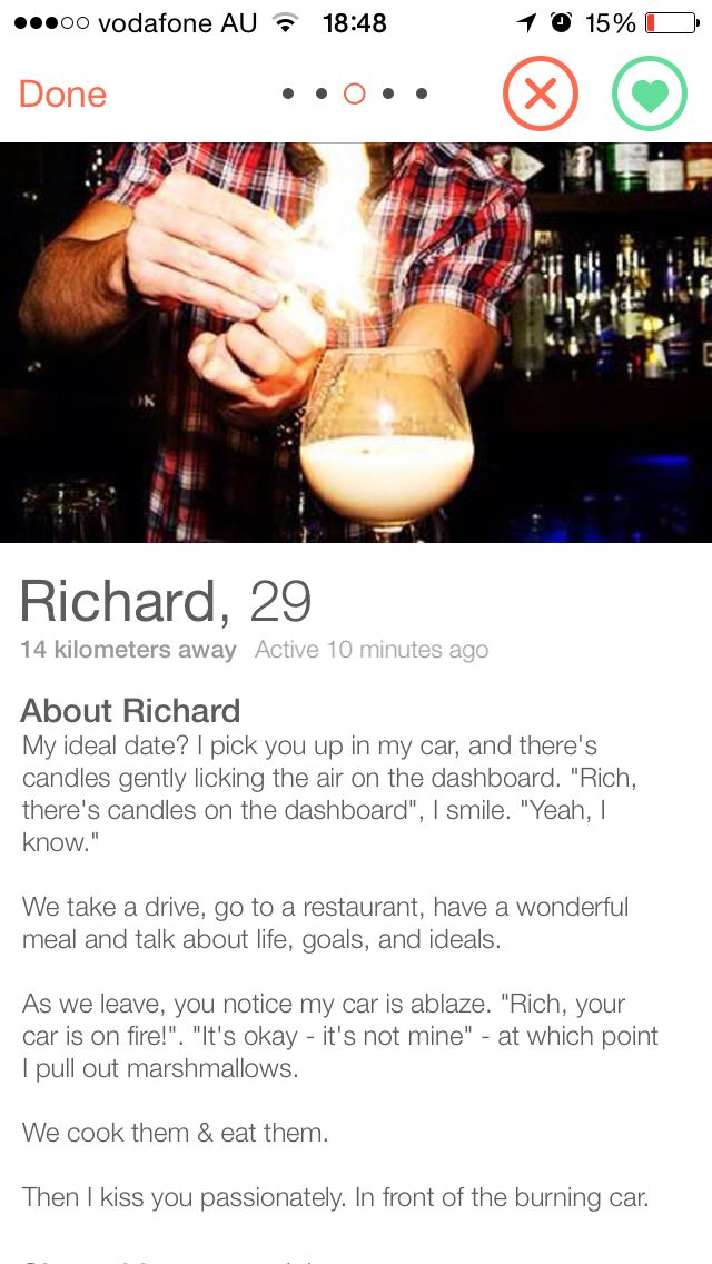 Clever bios for dating sites