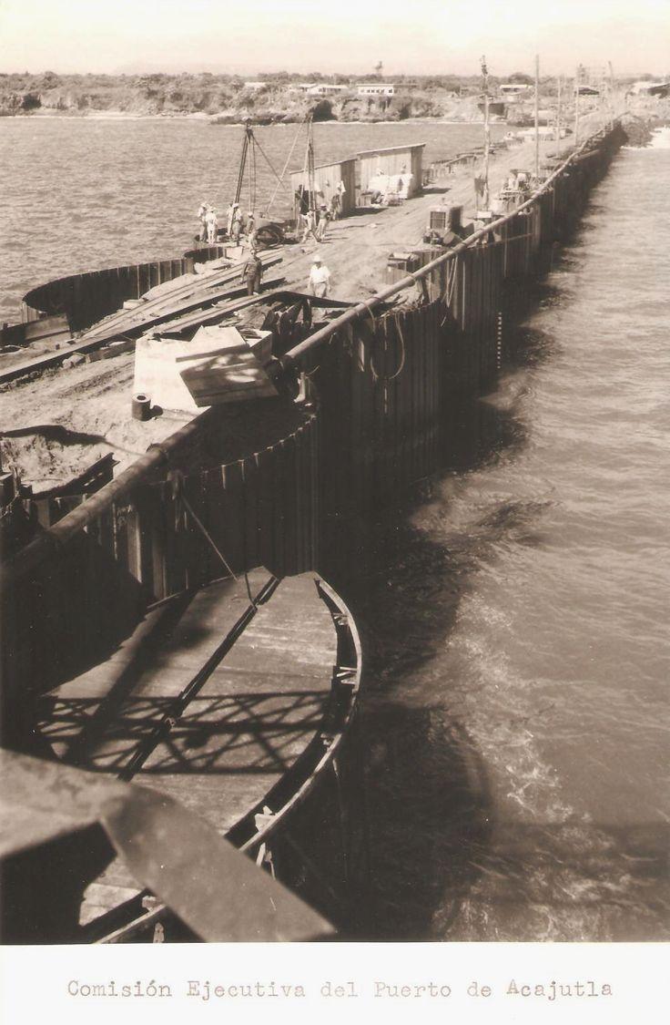 Puerto de Acajutla 1950s