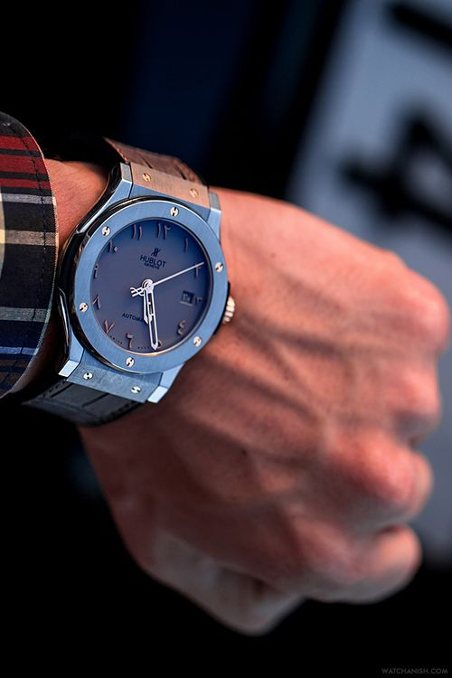 Hublot Dubai Visions limited edition.Read the full article onWatchAnish.com.