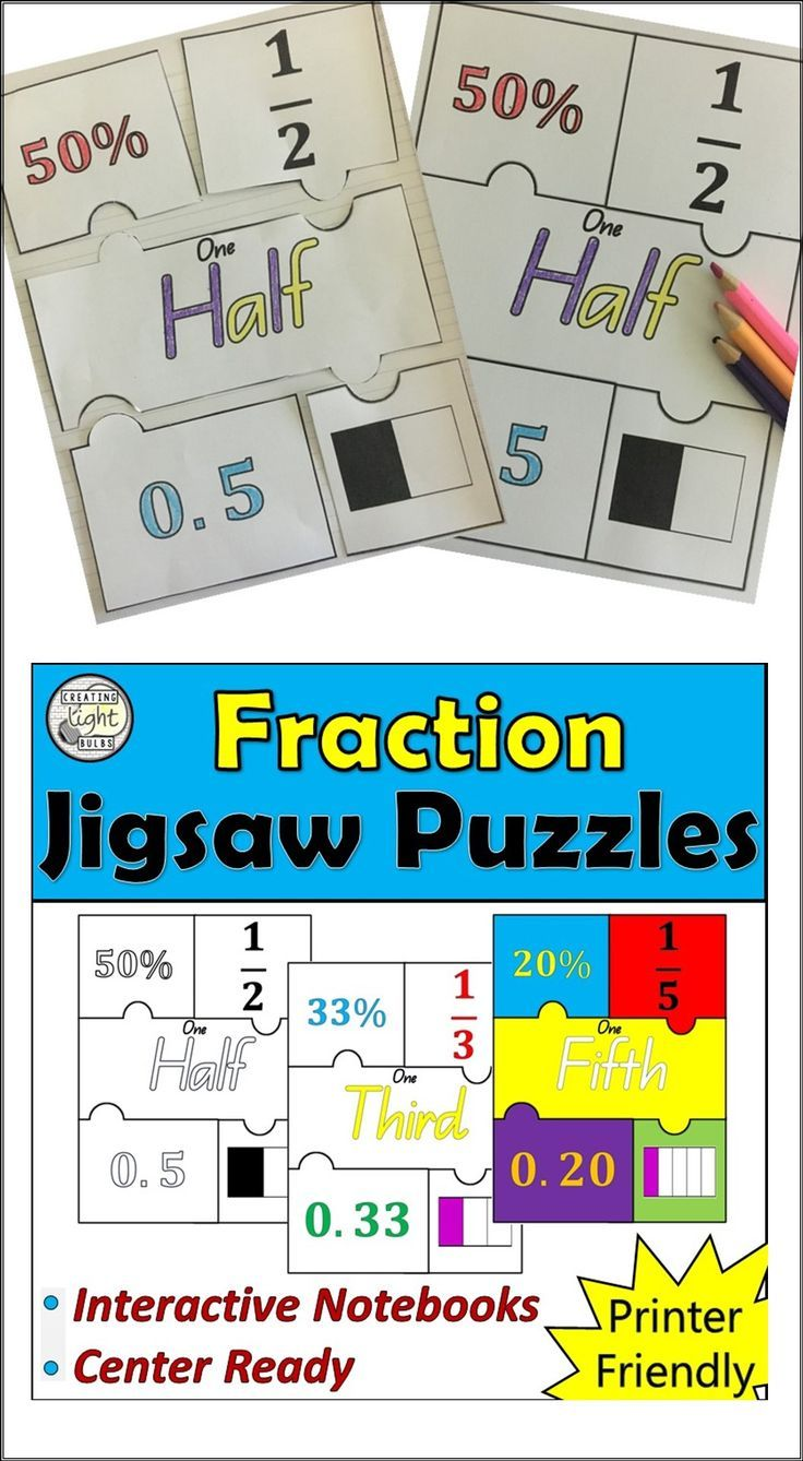 157 best Math - Fractions images on Pinterest | Fractions ...