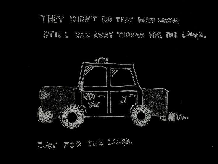 Arctic Monkeys ~ Riot Van