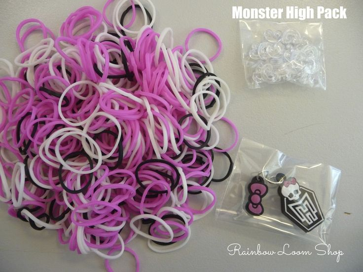 Rainbow Loom Shop - Monster High Charms