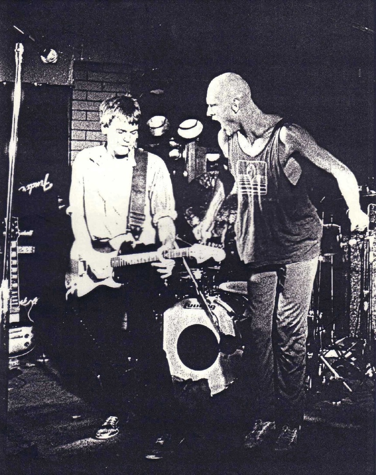 Midnight Oil kickin it at the Mawson Hotel Australia 1977