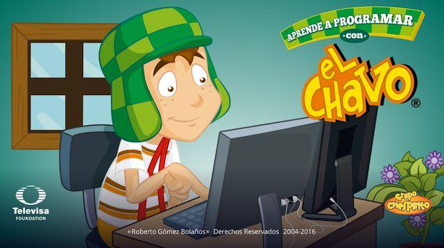 Crea y aprende con Laura: Aprende a #programar con el Chavo  (5-8 años) #App...
