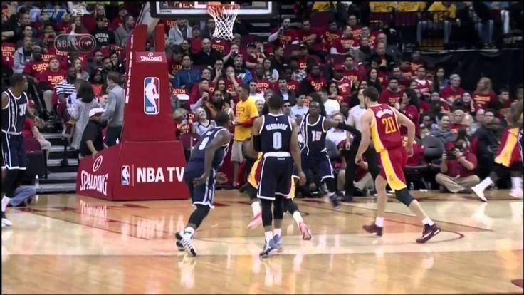 James Harden splits the defense, dunks on the Thunder