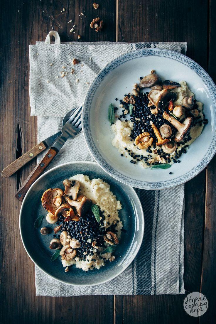 Super lekker vegetarisch knolselderij recept. De knolselderij en gruyère vormen een fantastische combinatie in de romige puree. Vind hier het recept.