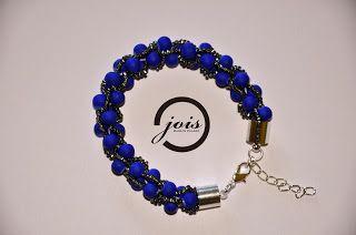 beautiful polish beaded crochet bracelets