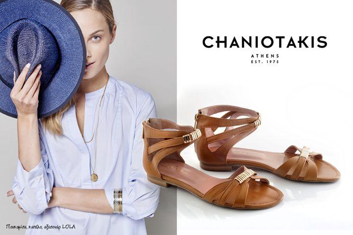 Καλοκαιρινά σανδάλια. Επίλεξε από τη συλλογή το χρώμα και το σχέδιο που σου ταιριάζει καλύτερα. Summer sandals: choose your color & design from our collection. #sandals #chaniotakis #shoes