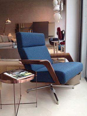 Lovely Harvink chair in Bute Tweed