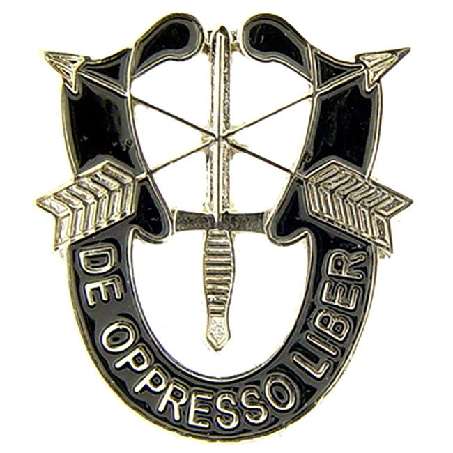 De Opresso Liber' is the motto of the United States Special Forces. The meaning of which is literally translated as 'From an oppressed man, to a free man'. This Encapsulates the entirety of the work t
