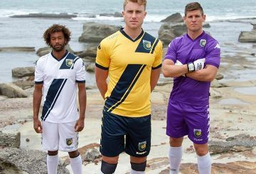 Central Coast Mariners 2015 AFC Champions League Kappa Kits