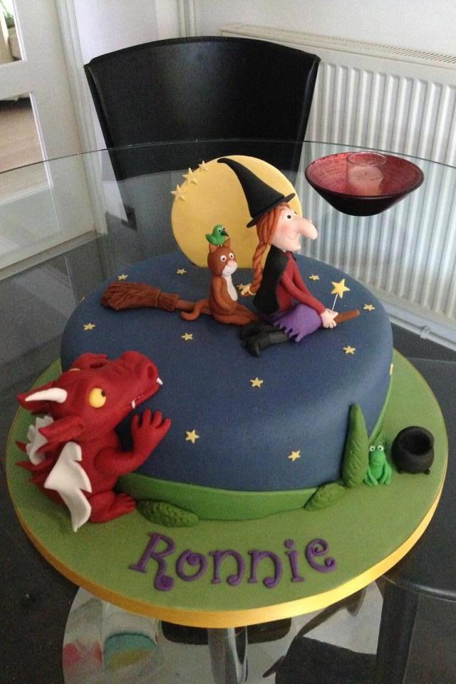 Cake inspiration - Room on the broom cake