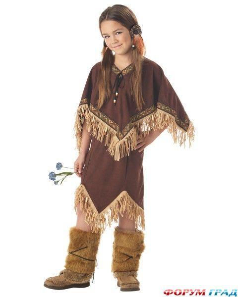 Краснокожие индейцы и индианки - Костюмы шьем народные – стильные и модные - Форум-Град