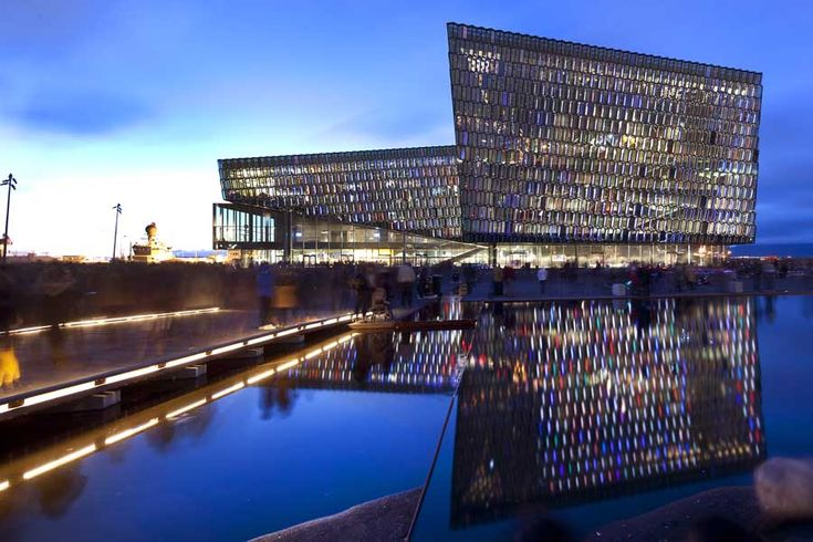 Harpa Concert & Conference Centre, Iceland by Henning Larsen Architects