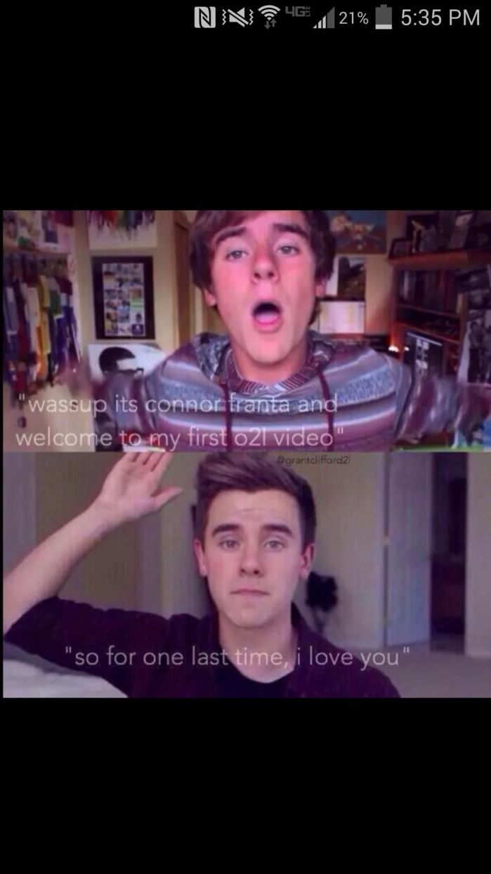 39 best o2l images on pinterest second life connor franta and magcon connor i have loved you since day 1 and will always love you i will stand by your decision even though we will miss you deeply but thanks for smiling kristyandbryce Gallery