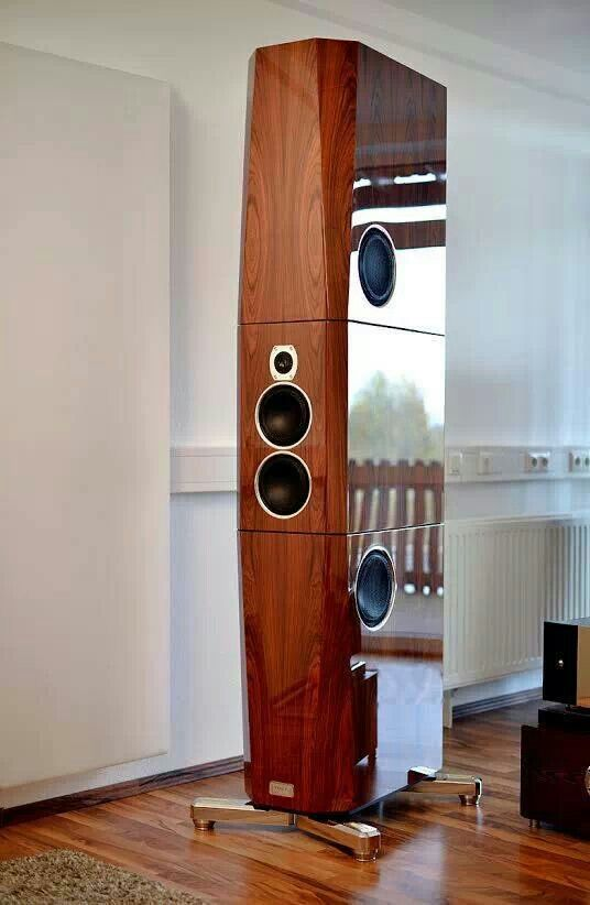 Tidal Sunray G2. These speakers need justice by having better quality photography. I hope you noticed the radiator in the background?!