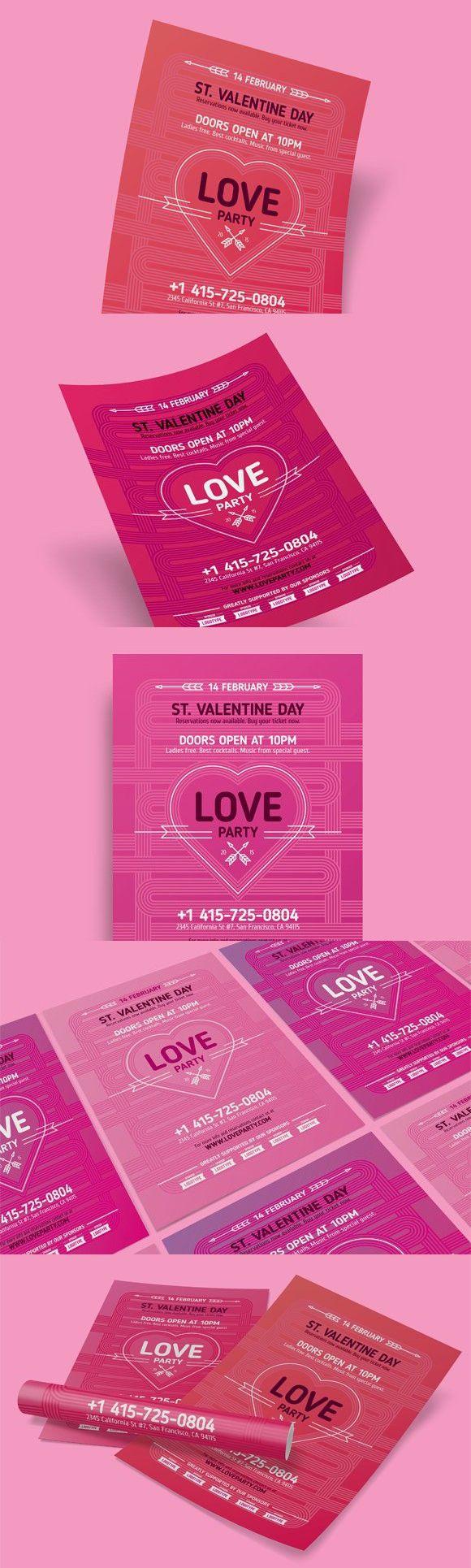 Valentine's Day Poster, Vol.4