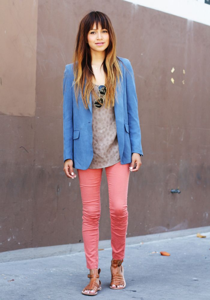 Jules from Sincerely, Jules in an MiH blazer