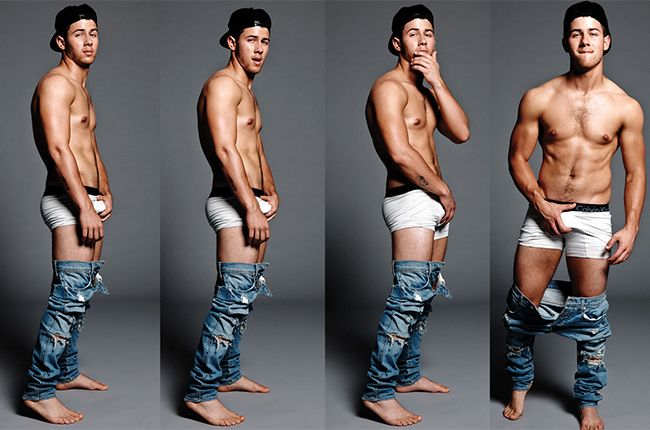 YEAH, GO AHEAD AND TEASE ME FOR LIKING THE JONAS BROTHERS NOW, SUCKAZ.  Nick Jonas, Flaunt Magazine