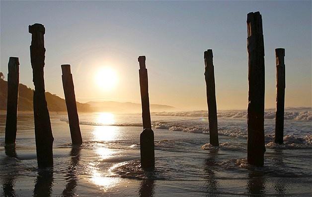 St. Clair beach, Dunedin, New Zealand